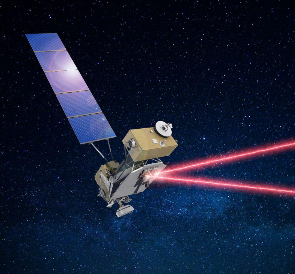 Przyrząd kosmiczny działający na zasadzie komunikacji laserowej