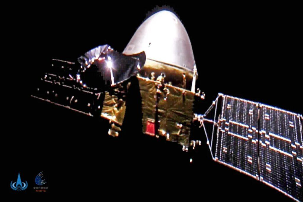 Chińska sonda kosmiczna Tianwen-1